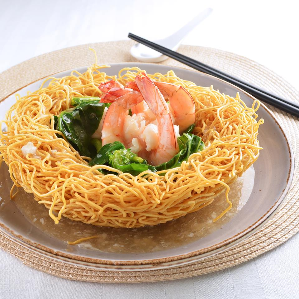 Crispy Noodles in Egg Gravy ($15)
