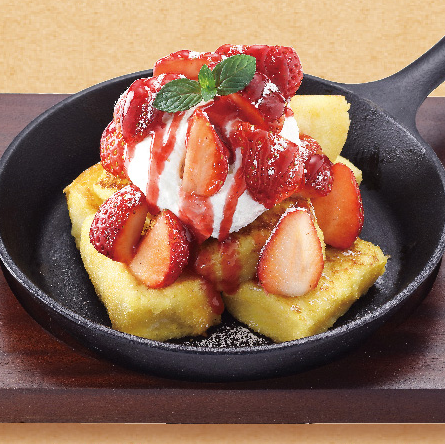Strawberry French Toast ($12.80)