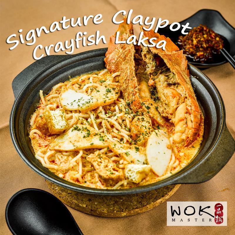 Signature Claypot Crayfish Laksa ($12)