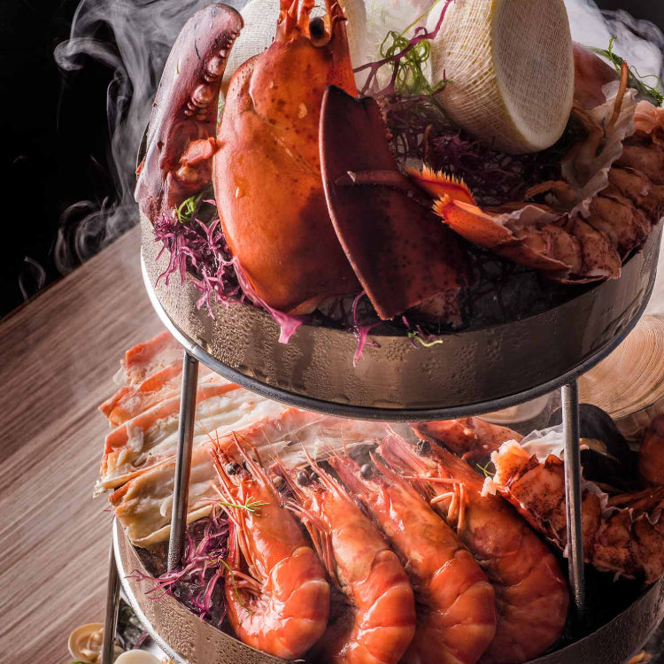 Seasonal Seafood Tower