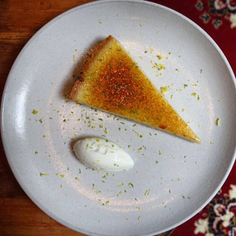 House-made Lemon Tart ($12)