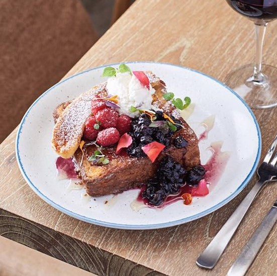 Brioche French Toast & Summer Berries ($19)