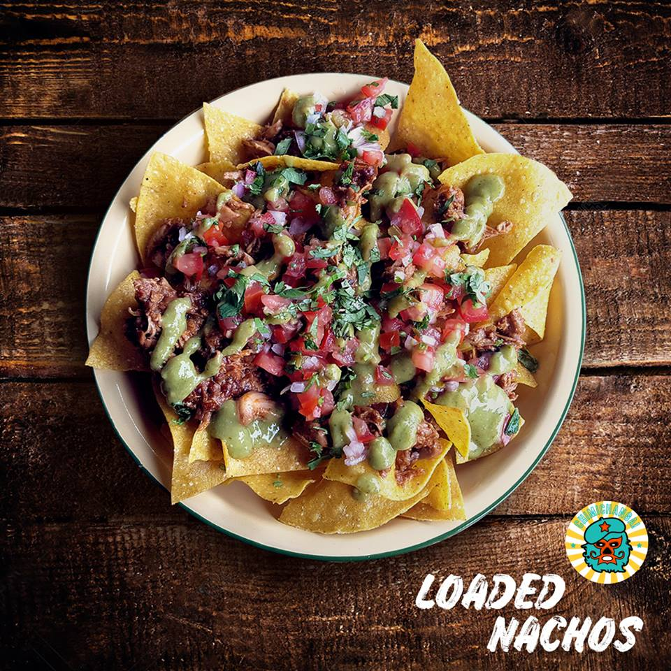 Loaded Nachos ($12)