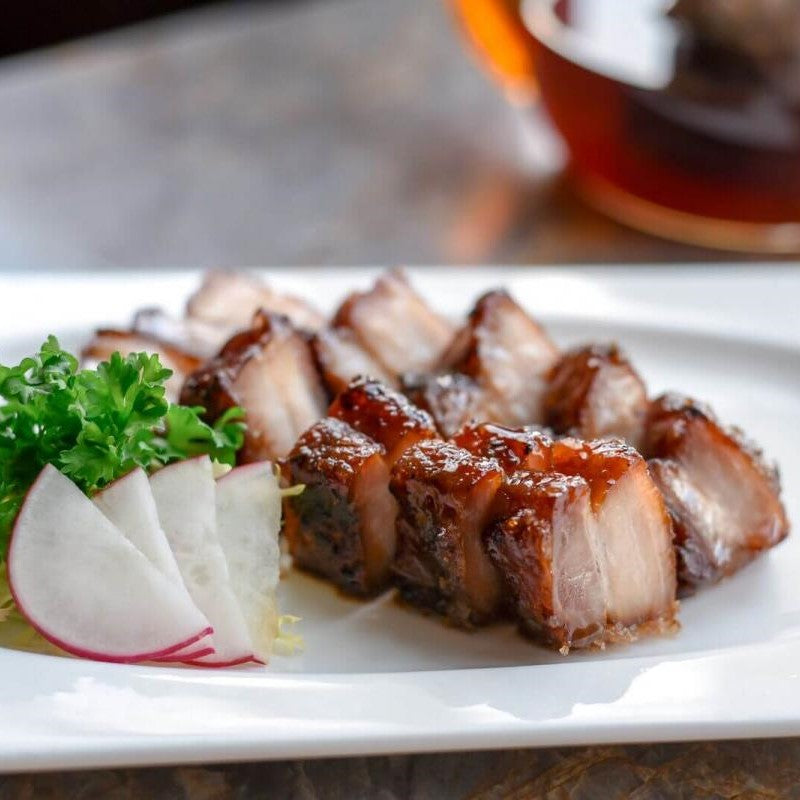 Chef's Signature Honey-Glazed Char Siew ($16)