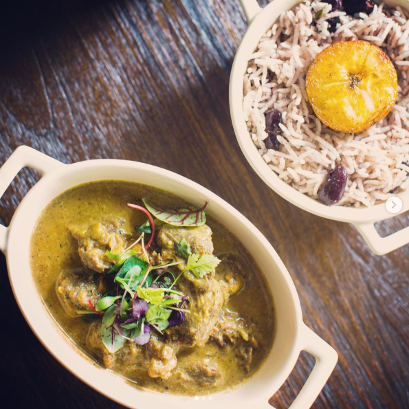 Tribajam Curry Goat ($33)