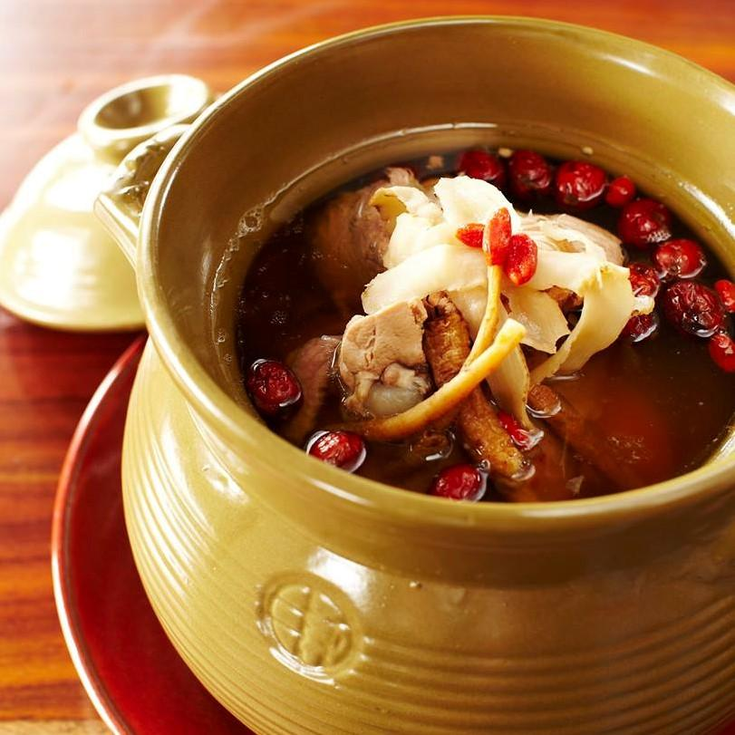 Double-boiled Soup of the Day ($8)
