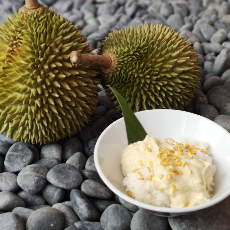 Durian Pengat with Sticky Rice