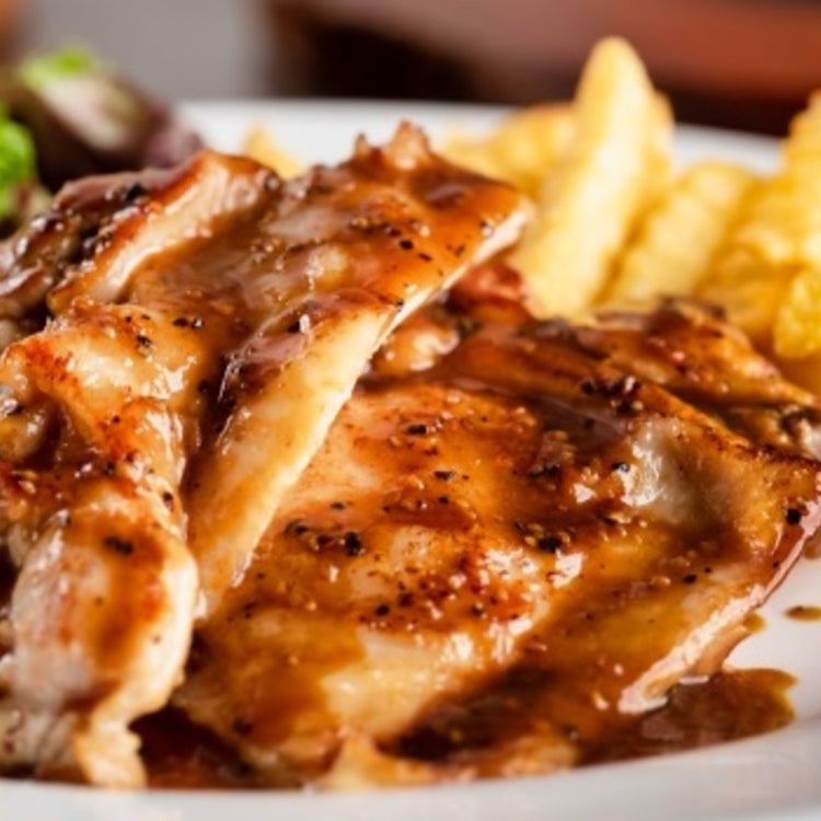 Teriyaki Chicken Chop ($18.90)