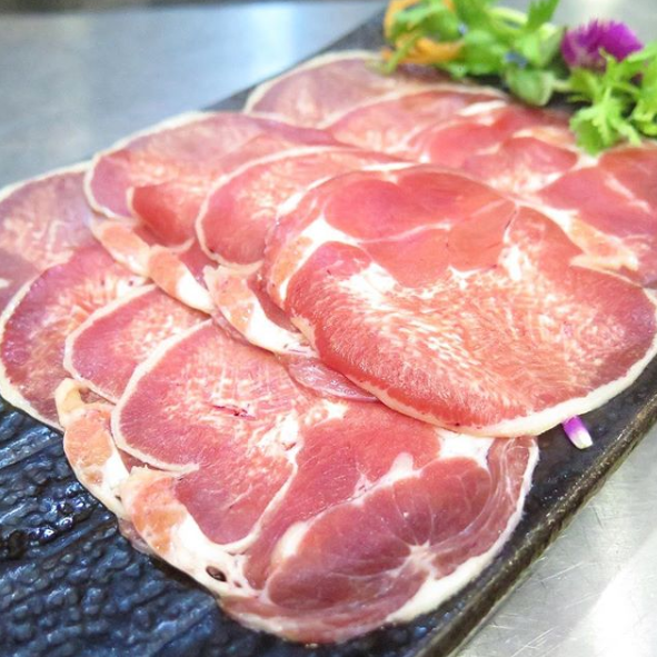 Freshly Sliced Ox Tongue