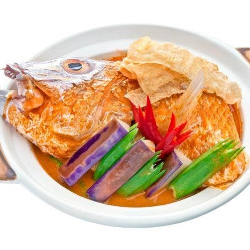 Homestyle Curry Fish Head
