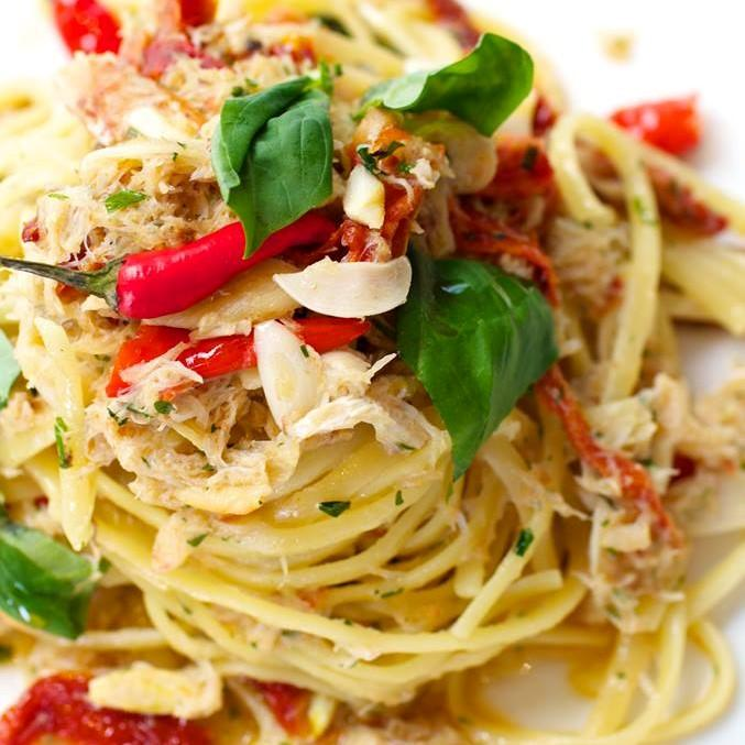 Crab Linguini Pasta ($27.50)