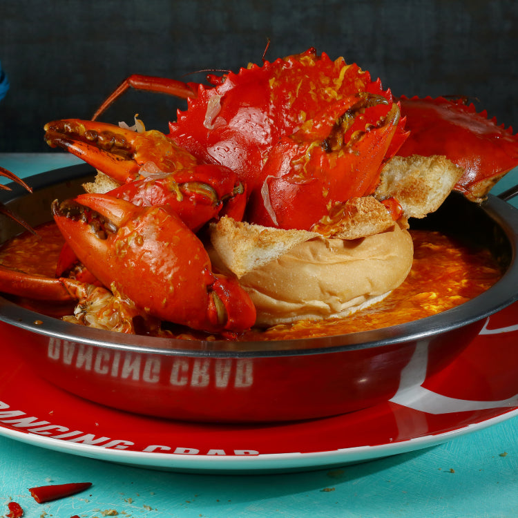 Chilli Crab Bread Bowl ($112)