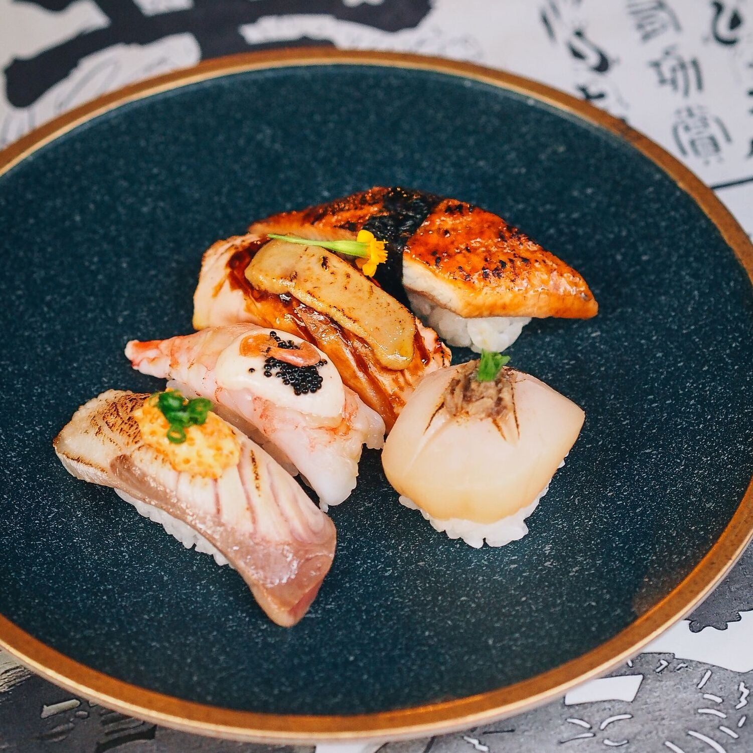 Aburi Nigiri ($12 for 2 pieces)