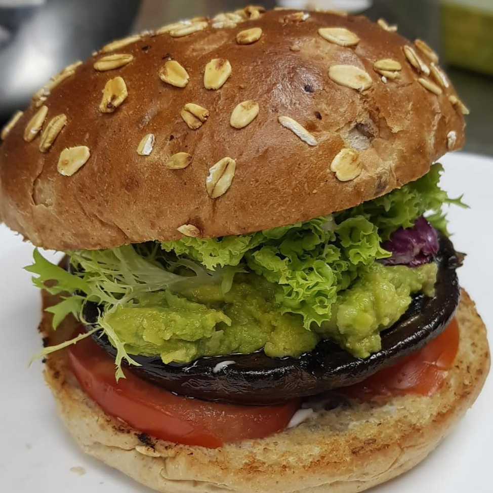 Portobello Vegan Burger