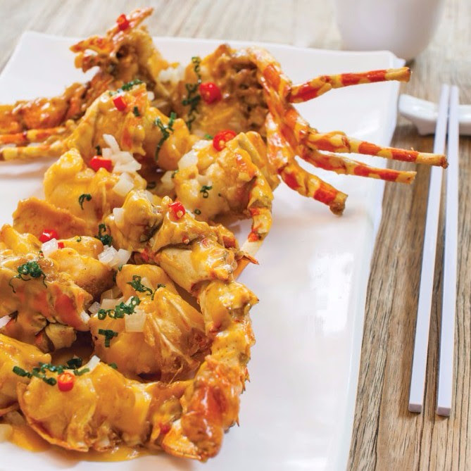 Signature Creamy Custard Sauce Lobster