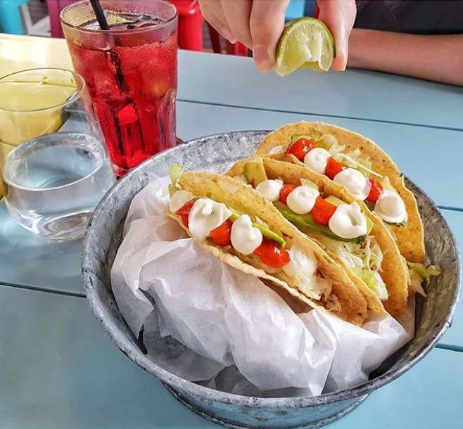 Crunchy Fish Tacos ($16 for 2)