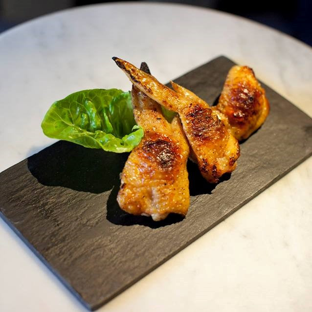 Stuffed Mentaiko Chicken Wings ($15)
