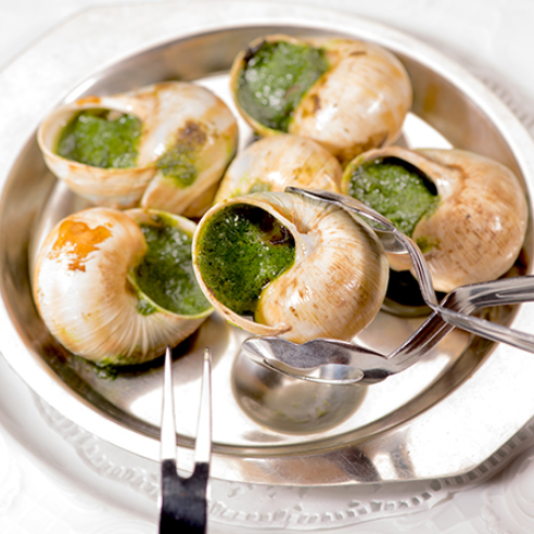 Burgundy Snails Baked with Parsley and Garlic Butter ($21)