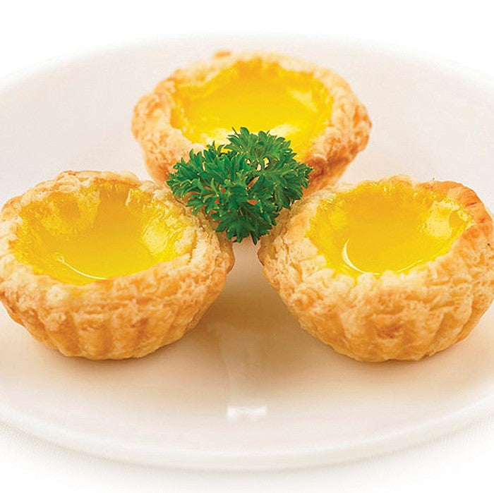 Baked Mini Egg Tarts ($3.20)