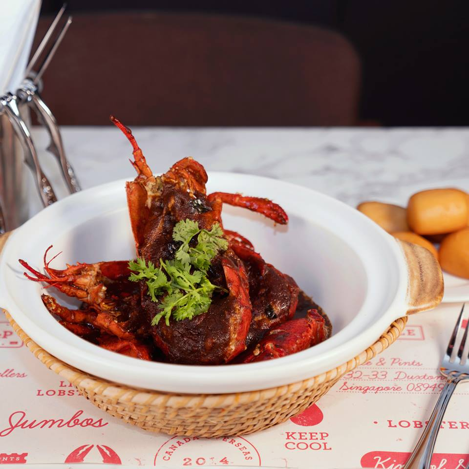 Black Pepper Lobster ($58++)