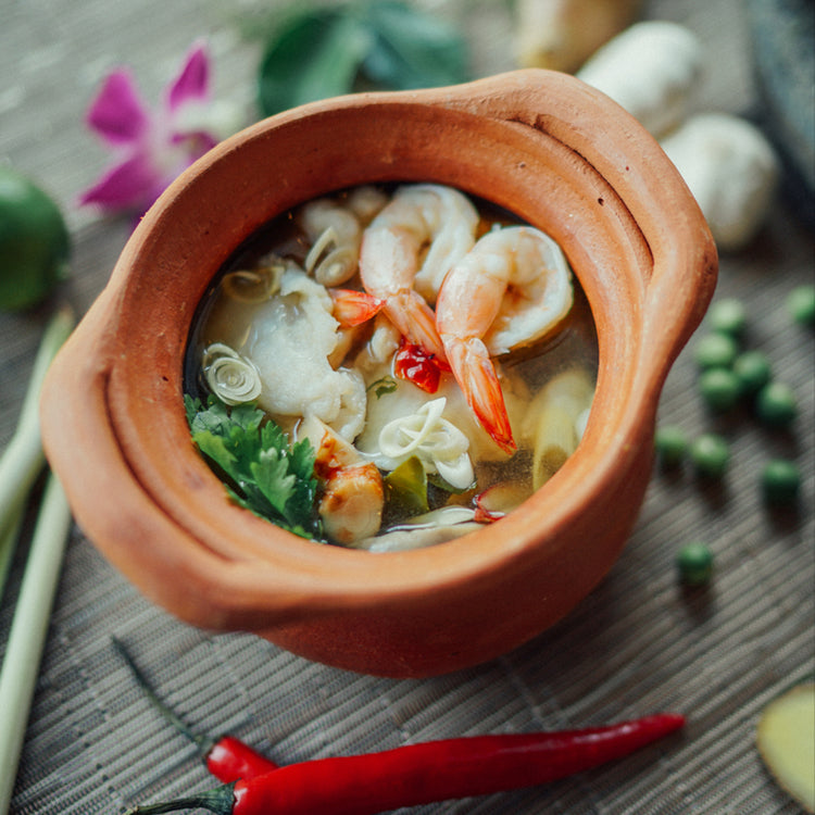 Tom Yum Soup ($12/$18)
