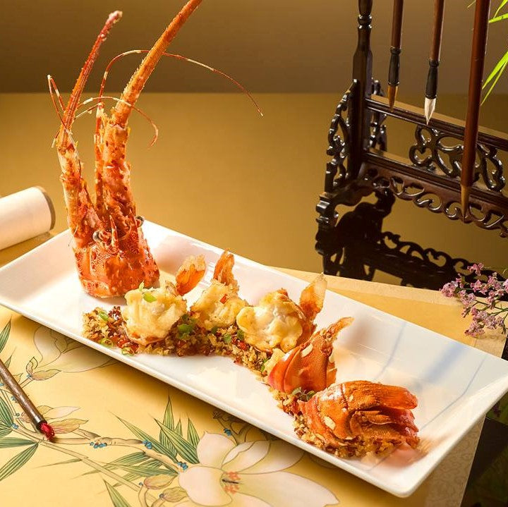 Local Lobster with Garlic ($22/100gm)