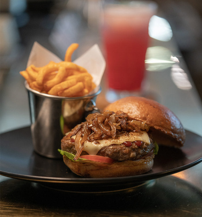 Classic Cheese Burger ($25)