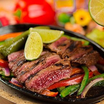 Flank Steak Fajitas ($29)