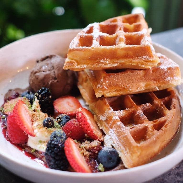 Home-Made Waffles ($16)