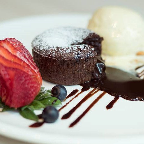 Hot Chocolate Lava Cake ($12)