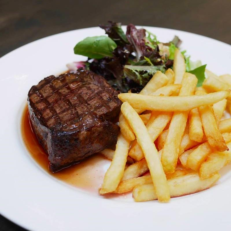 Steak & Fries ($28)