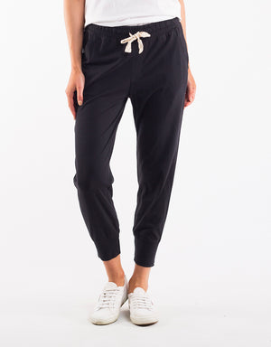 WASH OUT PANT || WASHED BLACK