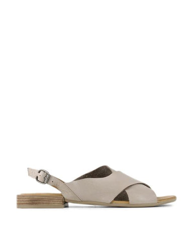 ANIA CROSS OVER SANDAL || SILVER/GREY