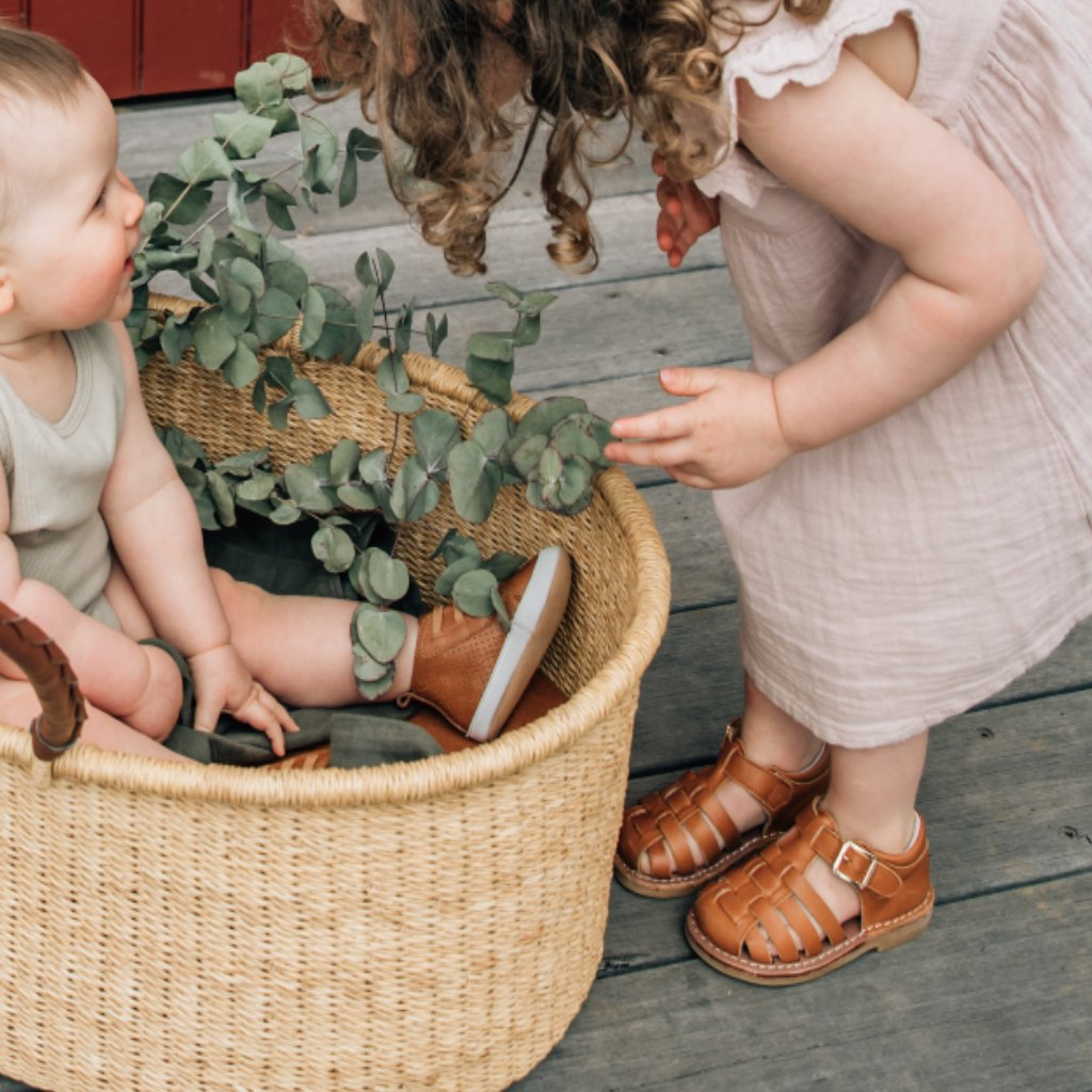 MONTEROSSO KIDS SANDAL || HONEY TAN