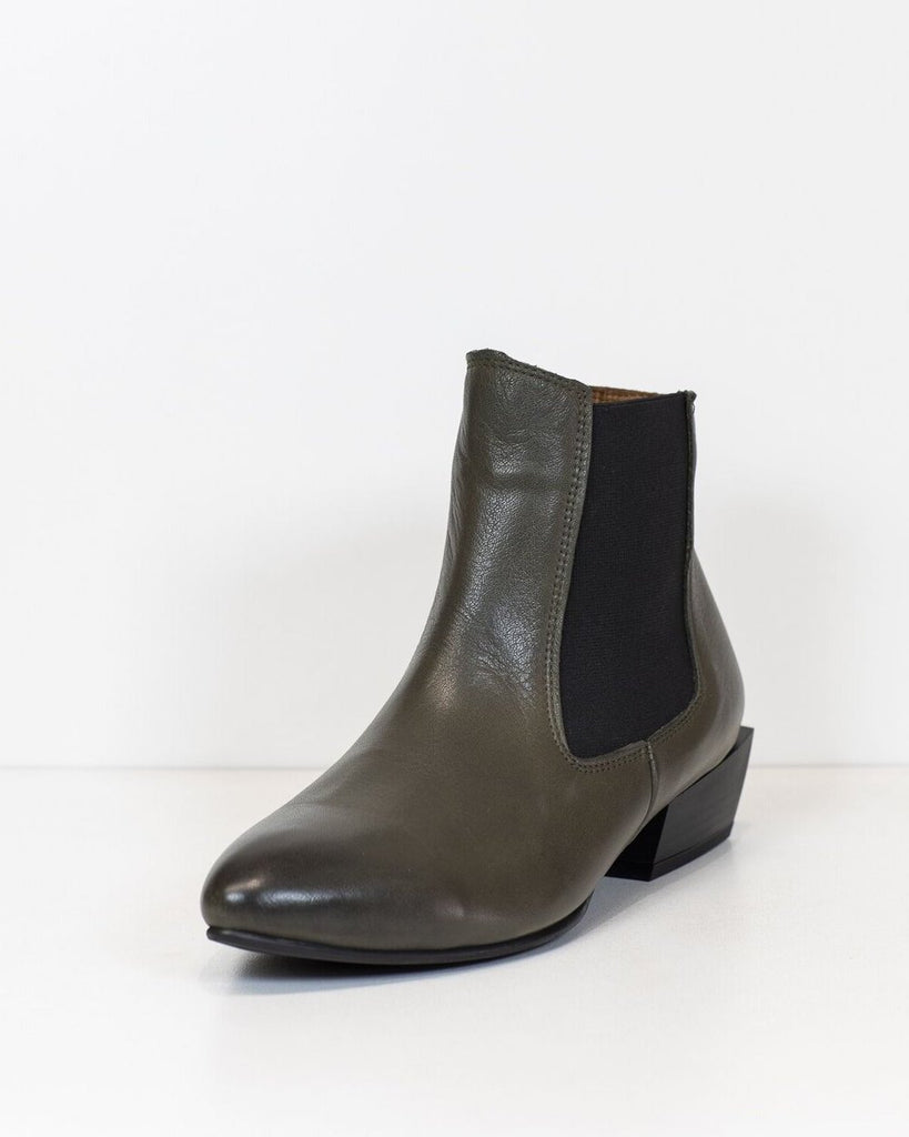 LOVER BOOT || OLIVE GREEN || TURKISH LEATHER