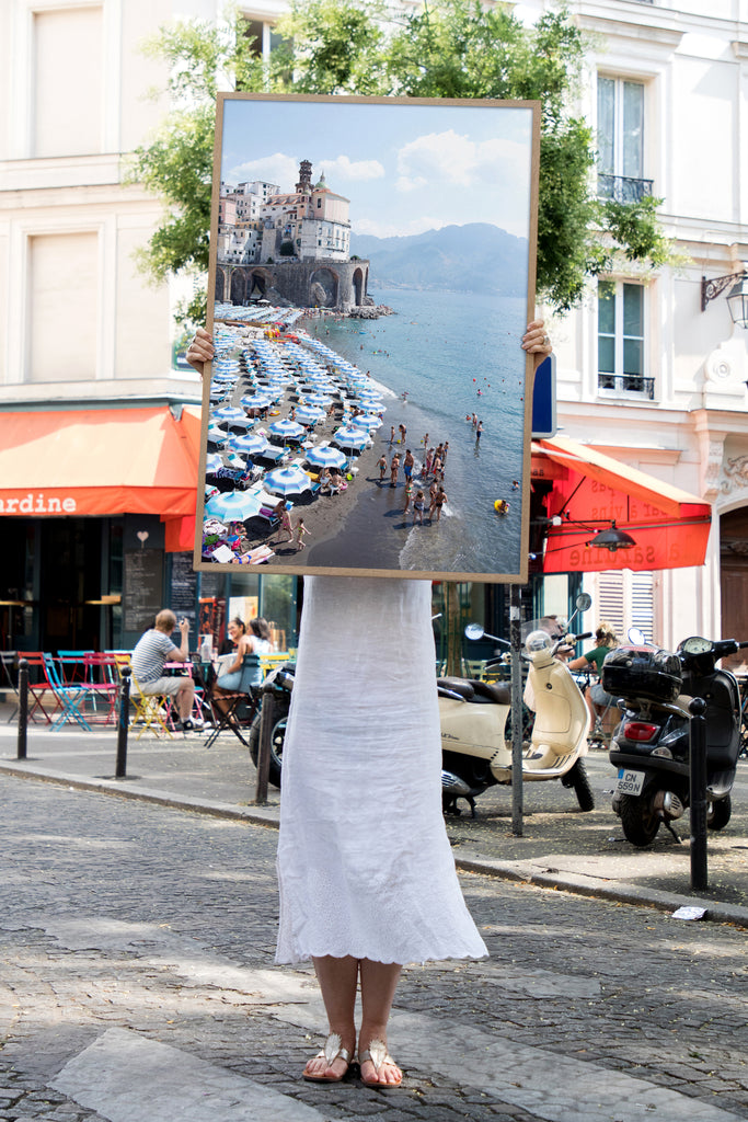 Atrani - Carla Coulson Limited Edition Fine Art Print, travel photography, Italy, beaches, beach photography