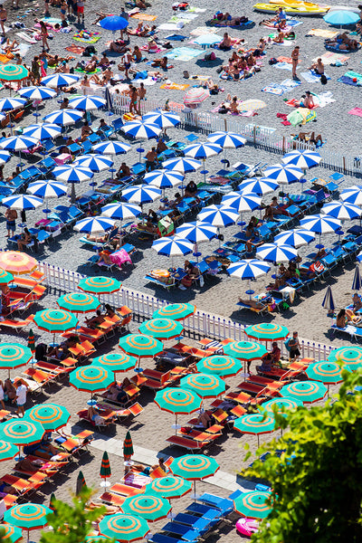 Positano Beach Umbrellas