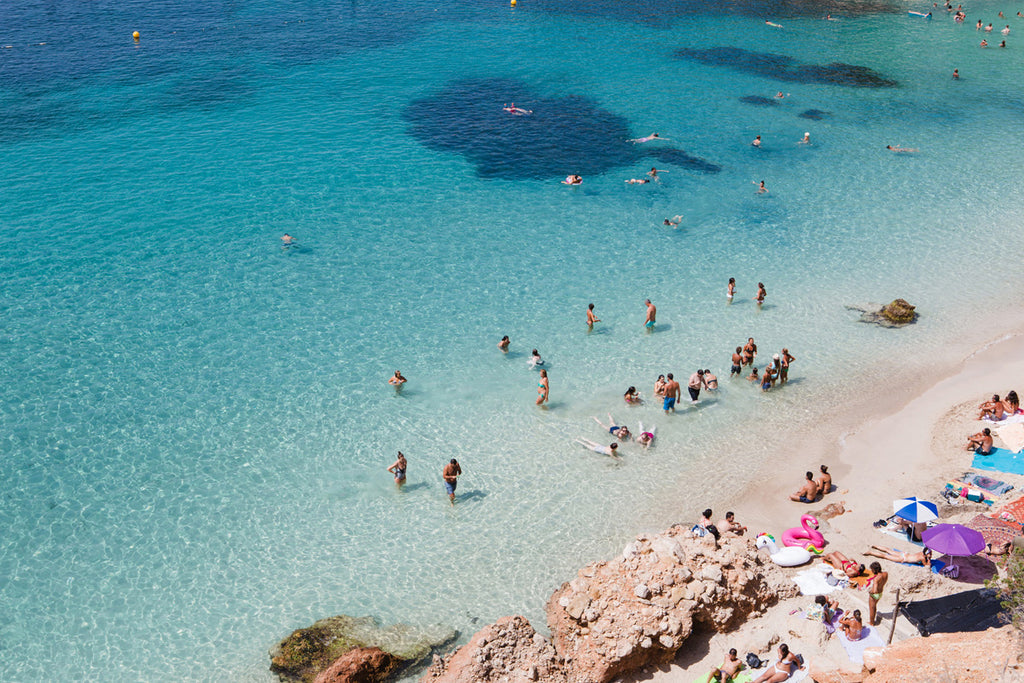 Summer Daze Ibiza - Carla Coulson Limited Edition Fine Art Print, travel photography, Spain, Ibiza, beaches, beach photography