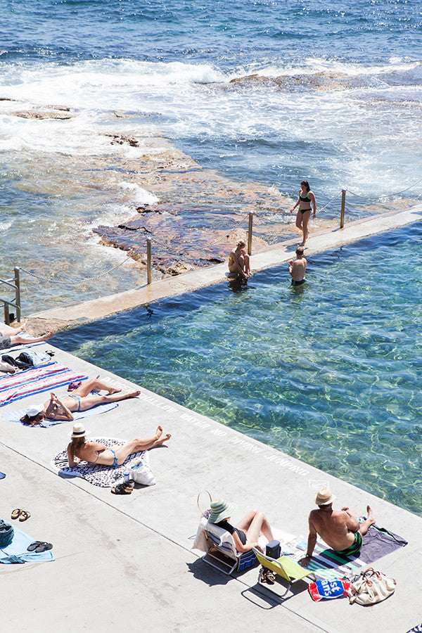 Wylies Baths Poll Position - Carla Coulson Limited Edition Fine Art Print, travel photography, Australia, Sydney, Bondi beach, beaches, beach photography