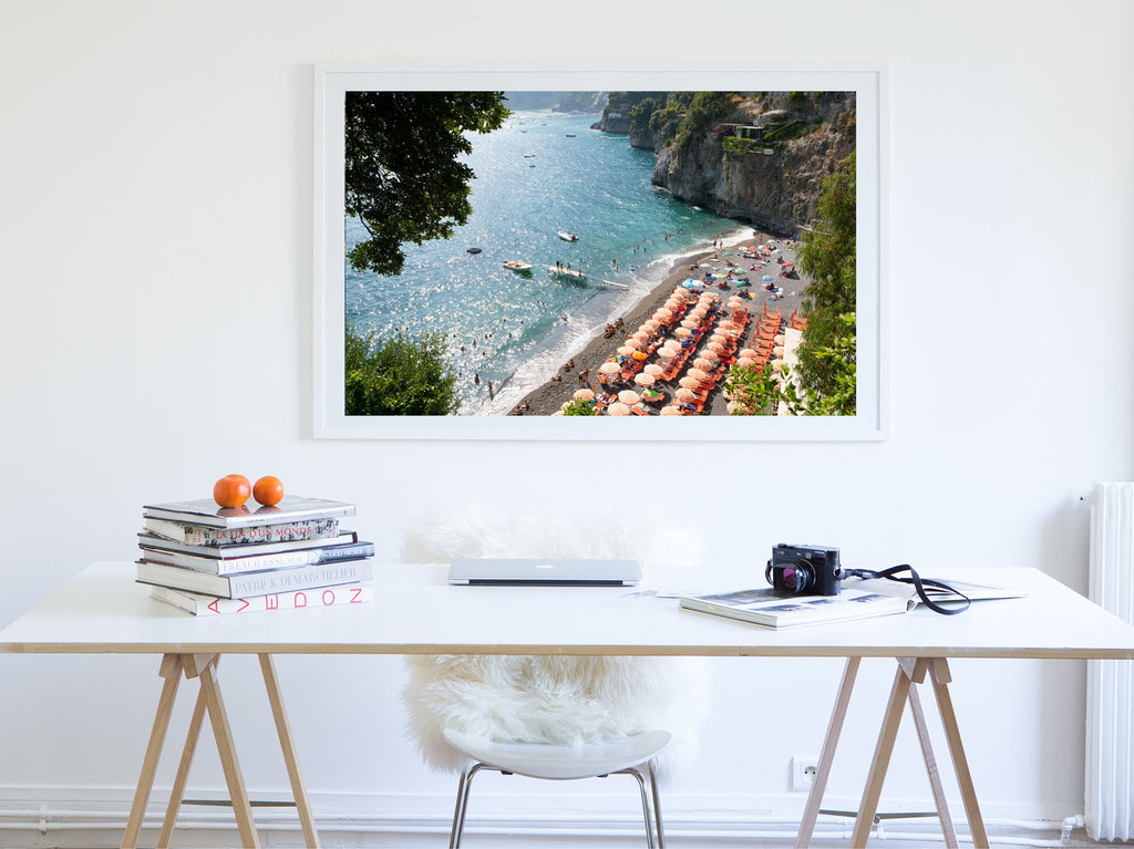 Arienzo - Carla Coulson Limited Edition Fine Art Print, travel photography, Italy, beaches, beach photography, interior design