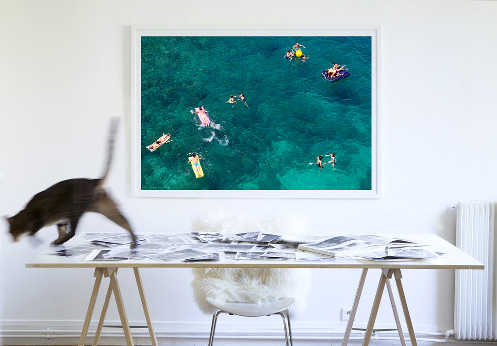 Floating Polignano A Mare - Carla Coulson Limited Edition Fine Art Print, travel photography, Italy, beaches, beach photography, interior design