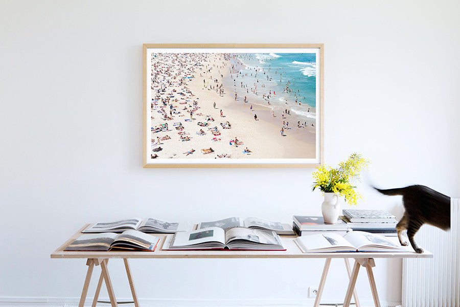 Bondi Water Jungle 2 - Carla Coulson Limited Edition Fine Art Print, travel photography, Australia, Sydney, Bondi beach, beaches, beach photography, interior design