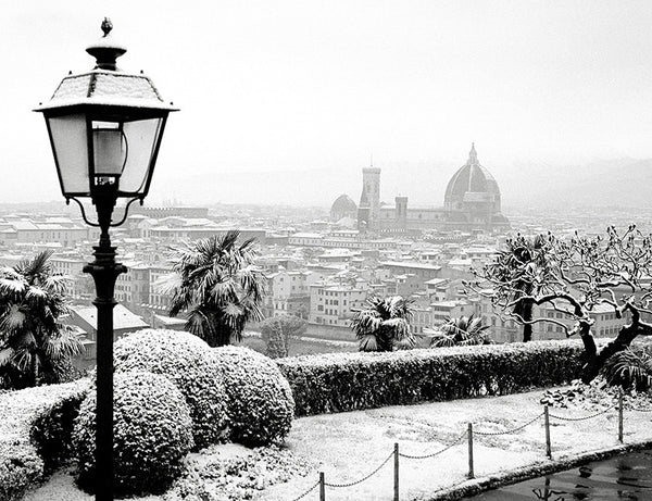 Florence Dusted with Snow