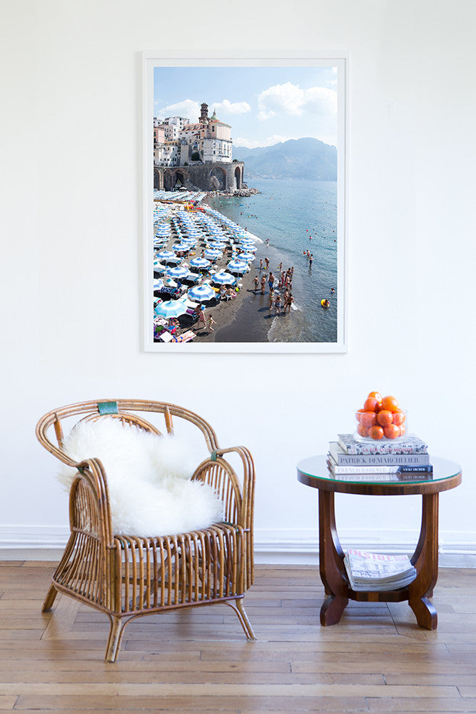 Atrani - Carla Coulson Limited Edition Fine Art Print, travel photography, Italy, beaches, beach photography, interior design