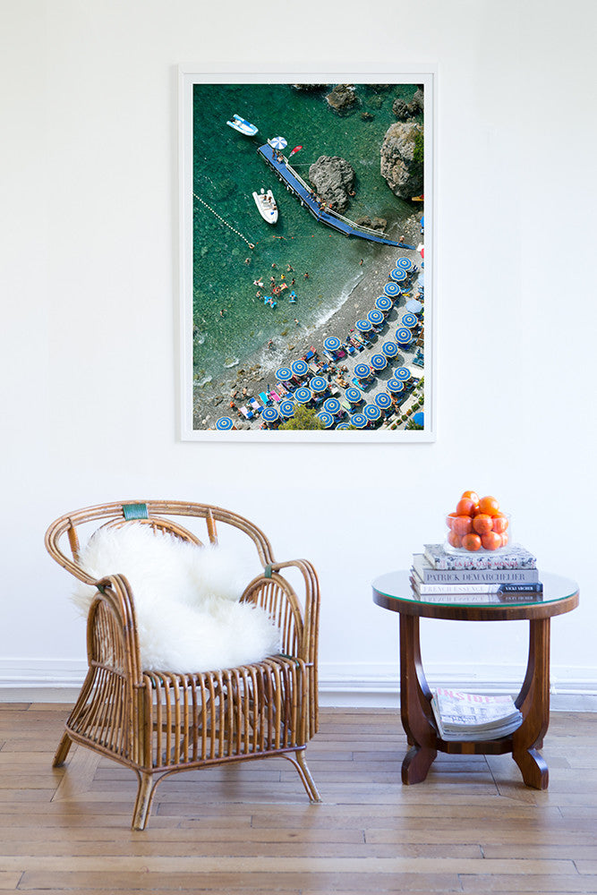 Santa Croce Beach - Carla Coulson Limited Edition Fine Art Print, travel photography, Italy, beaches, beach photography, interior design