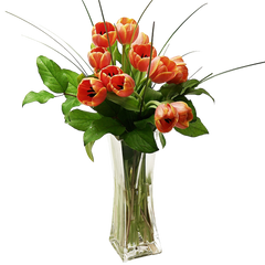 Tulips Arranged in a Vase