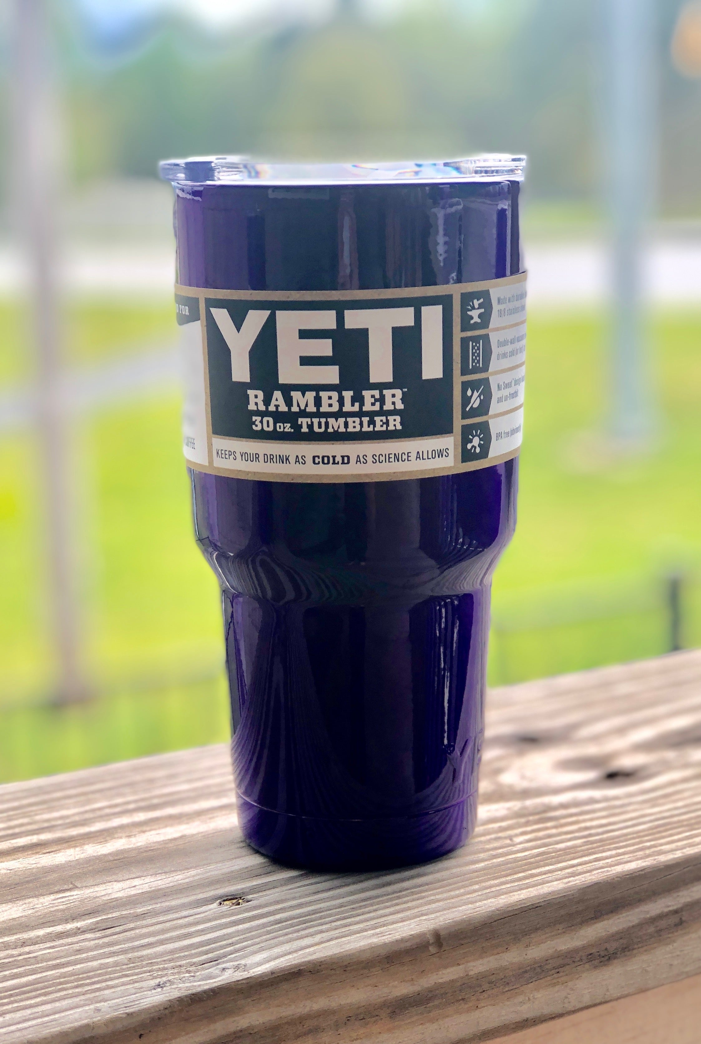 Purple Yeti 30oz