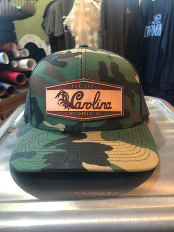 Camo SC Gamecocks Hat