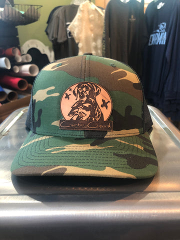 Country Casual Camouflage Hat