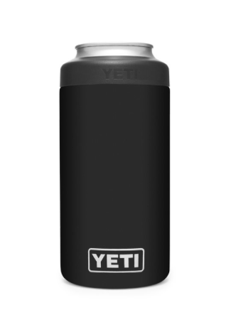Yeti Rambler Colster Tall Can Insulator - Black